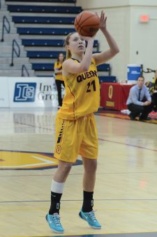 Fourth-year guard Jenny Wright's 13.8 points per game led all Gaels this season.