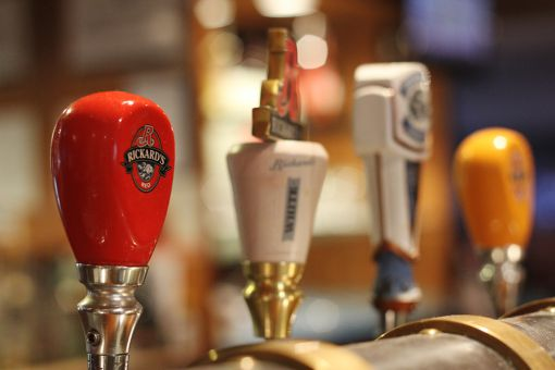 All of Queen's Pub's draught offerings are owned or distributed by Molson Coors.
