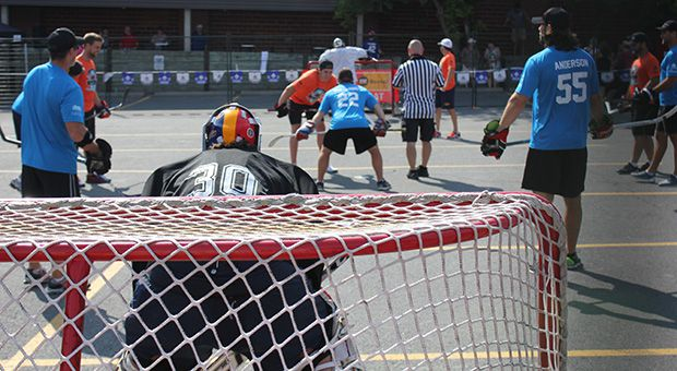The Charity Ball Hockey Tournament fundraised for the Boys and Girls Clubs of Kingston.