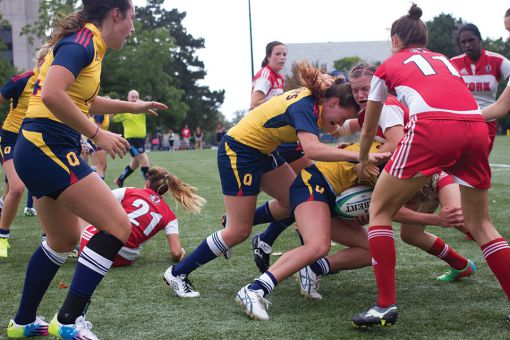First year Gaels used this round-robin tournament as preparation for the upcoming year.