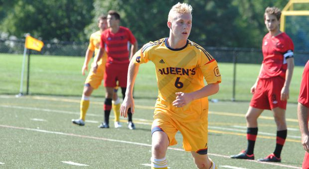 Jacob Schroeter was named OUA athlete of the week for his performance versus Toronto and Ryerson.