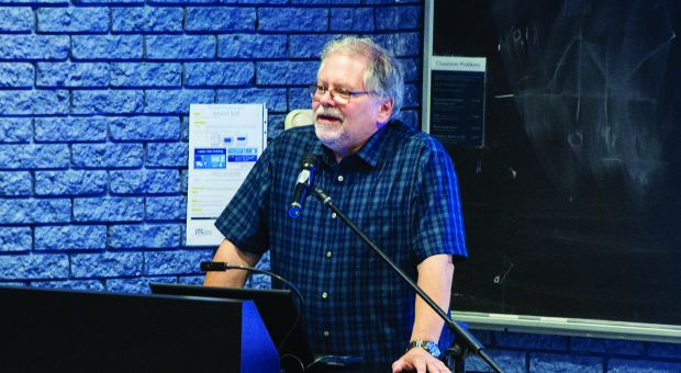 "Queen's professor John Smol spoke Thursday at the ""Get Science Right"" conference."