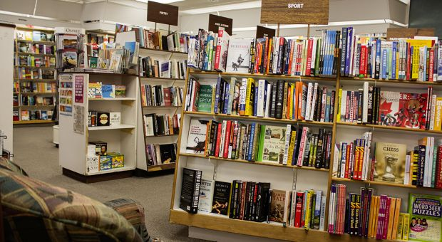 Novel Idea, a cozy bookstore in the heart of downtown Kingston.