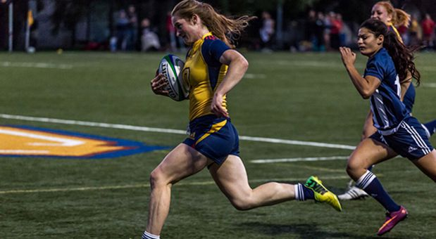 Emma Chown scored three tries this weekend against York, putting her OUA leading total to 11.