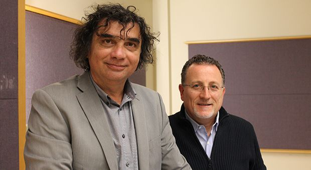 Donato Santeramo (left) and Antonio Nicaso (right) have been discussing a collaboration since they met at a conference in 1990.