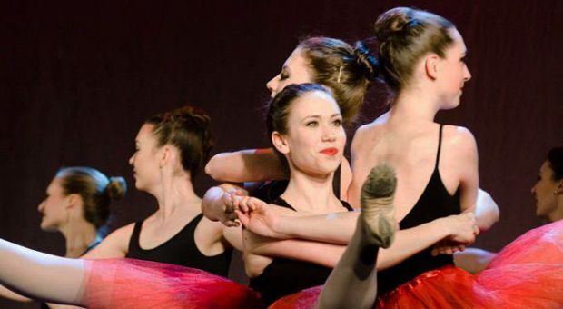 Student artist Meaghan Gallant during a performance in March of this year.