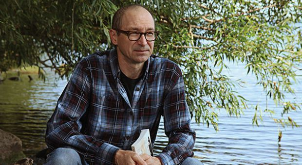 Armand Ruffo, whose novel Norval Morrisseau: Man Changing into Thunderbird was recently nominated for the Governor General's Literary Awards.
