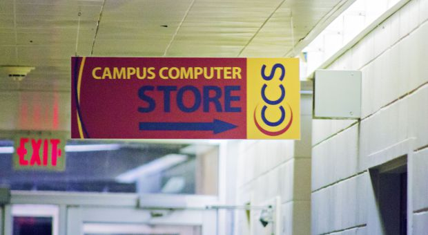 The Campus Computer Store in Dupuis Hall will close by April 2016.