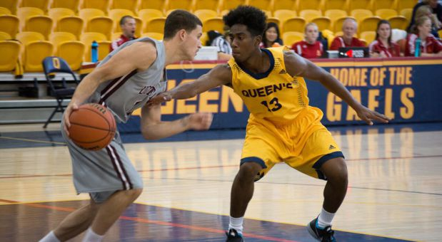Sammy Ayisi (#13) and the Gaels are looking to return to the playoffs.