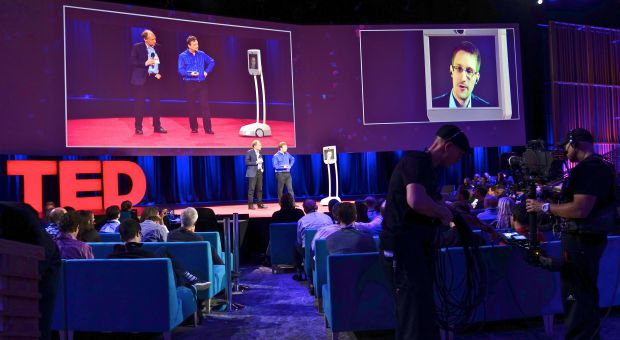 Snowden at TED2014