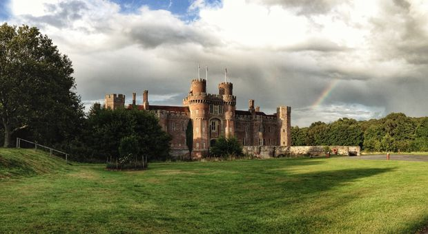 The BISC is housed in Herstmonceux Castle at Herstmonceux, England.