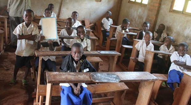 The funds raised by the Nyantende Foundation go towards building an Educational Technology Center for children in Congo.