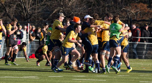 After being down 15-7 at half, Queen's responded with a strong final 40 minutes in the win.