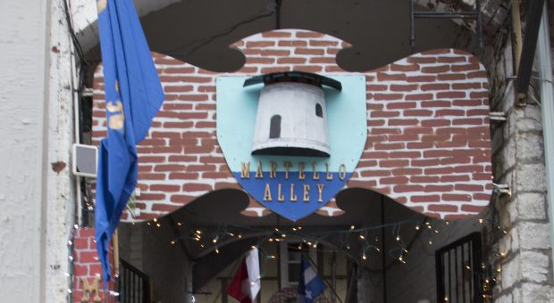 Martello Alley is a new open-air gallery.