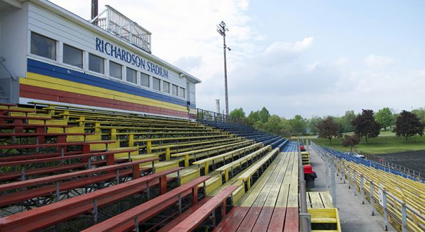 Construction on the Richardson Stadium Revitalization project officially began on Dec. 5, 2015.