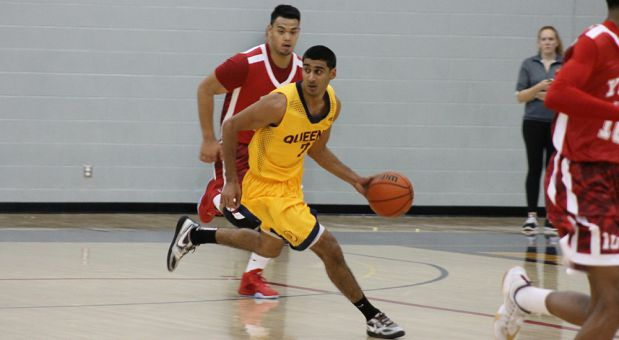 Sukhpreet Singh scored a career-high 39 points in the loss to Carleton.