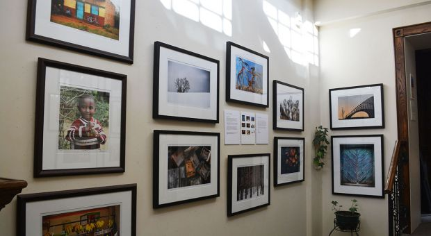 "The photography exhibit ""7 x 7."""
