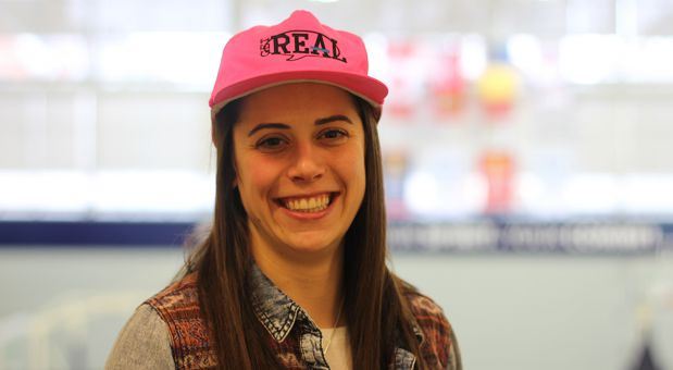 Emily Hazlett has been involved in Get REAL since last school year.