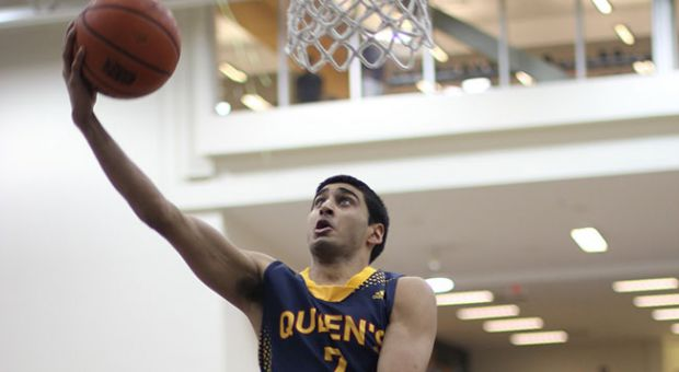 Sukhpreet Singh is second in the OUA with 22.6 points per game.
