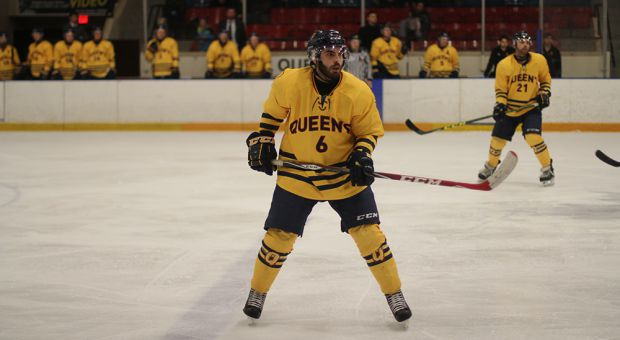 Joseph Luongo finished his four years at Queen's with the playoff loss.
