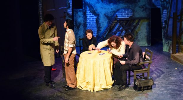 The Ends of the Earth was an absurdist play produced by 5th Company Lane Productions.