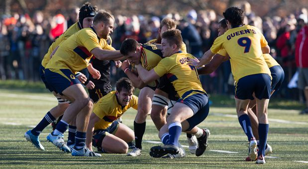 Men's rugby went 2-1 in the round robin in BC.