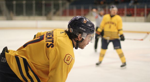 Taylor Clements played for four years on the men's hockey team.