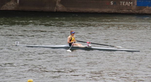 Abusow won the women's single Dad Vail Regatta in Philadelphia earlier this month.
