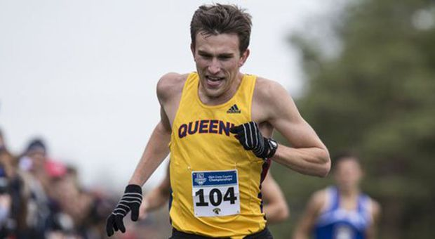 Less than a year after winning the OUA Cross-Country Championship (pictured above), Alex Wilkie was given a 30 per cent chance of returning to competitive running.
