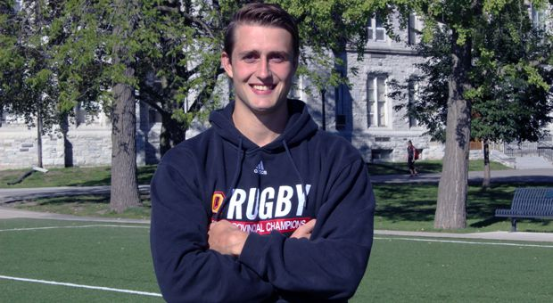 Michael Douros hopes to win a fifth-straight OUA Championship during his captaincy.