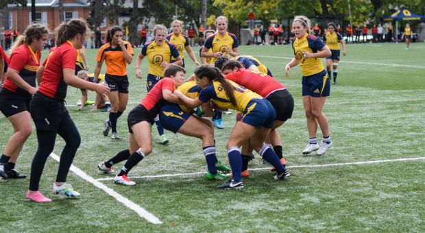 With their win against York, Queen's will now face Guelph, who beat them earlier this year 50-5 on Nixon Field.