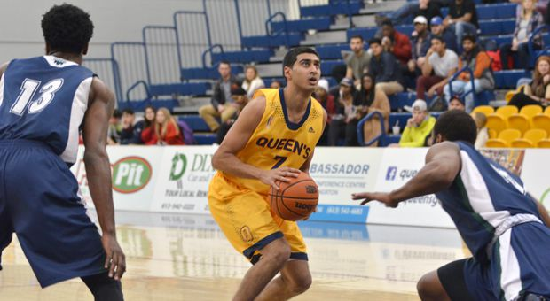 Sukhpreet Singh is second all-time in Queen's scoring history.