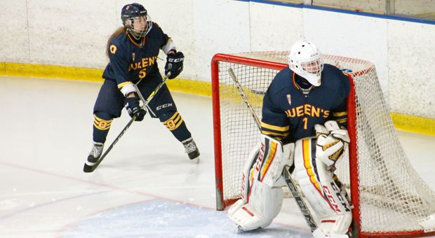 Stephanie Pascal made 31 saves against Laurentian, sealing the Gaels win.