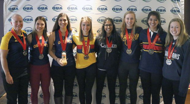 Women's squash won their third straight OUA title this weekend.