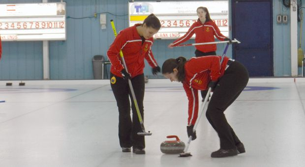 Curling at the 2016 OUA Championship.