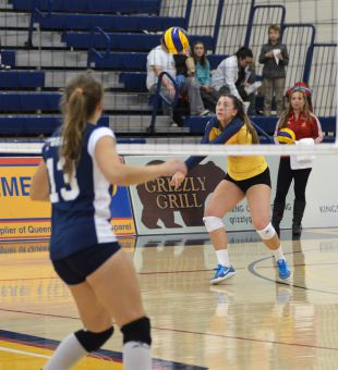 Women's volleyball team lost to the Western Mustangs this weekend to end their OUA playoffs stint.