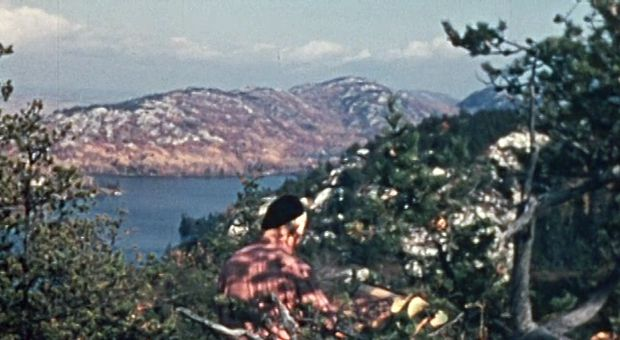 A shot from film 'Canadian Landscape'