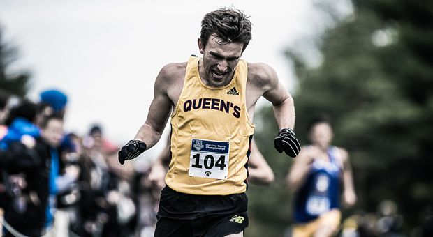 David Wilkie won the OUA cross country championships in 2015.