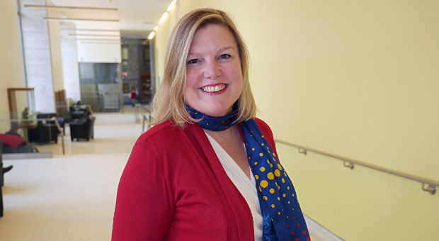 Sue Bates graduated from Queen's in 1991.