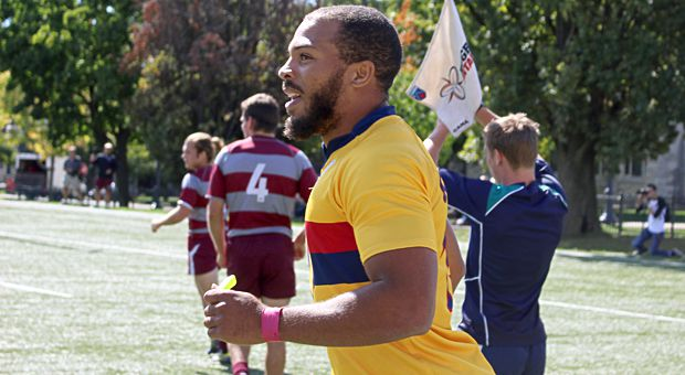 Kainoa Lloyd is in his fifth-year at Queen's.