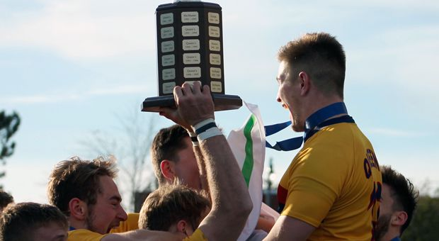 Queen's won their 23rd Turner Trophy.