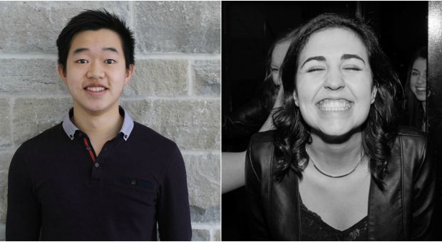 PHEKSA Presidential candidates Quentin Tsang (left) and Colleen Bumstead (right).