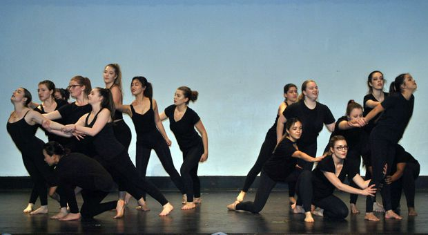 Dancearama featured a variety of dance performances.