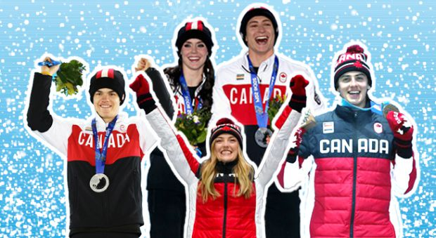Some of Canada's most successful Olympians so far in Pyeongchang.