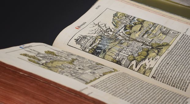 Queen\'s Library opens historical Nuremberg Chronicle for students ...