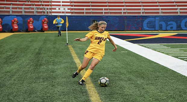 Jenny Wolever leads the OUA in goals this season with 13.