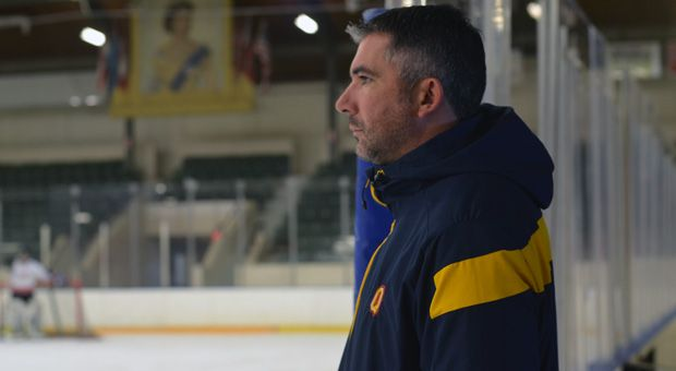 Brett Gibson has redeveloped the men's hockey team into a perennial contender in the OUA and U Sports.