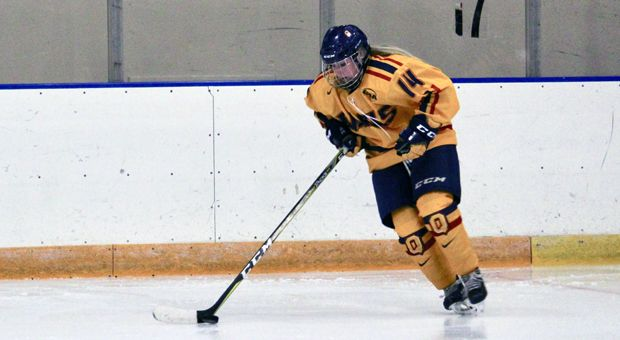 The women's hockey team split their weekend games for the second straight weekend.