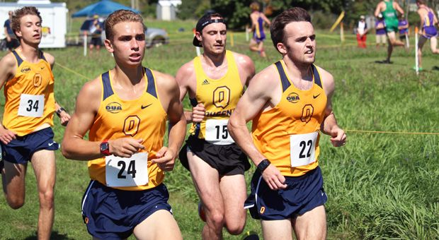 Mitch De Lange (24) has led the men's team throughout the season.