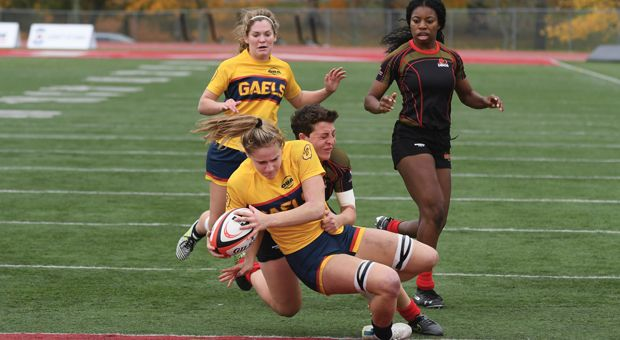 Women's rugby finished their season ranked sixth in Canada.